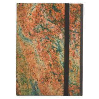 Brown elegante y fondo de piedra de mármol verde