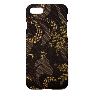 Brown Embroidery Look iPhone 8/7 Case