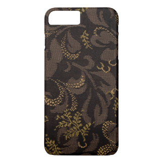Brown Embroidery Look iPhone 8 Plus/7 Plus Case