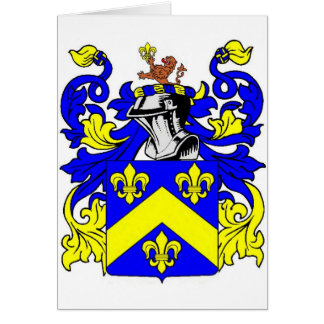 Brown (English) Coat of Arms Card