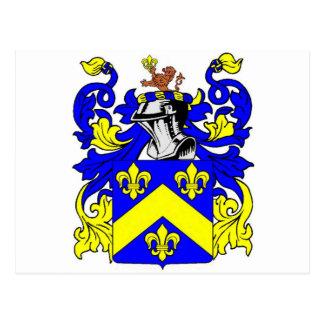 Brown (English) Coat of Arms Postcard