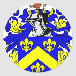 Brown (English) Coat of Arms Sticker