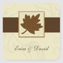 brown envelope seal