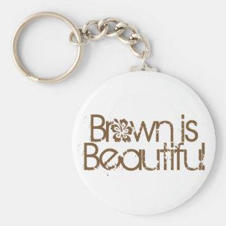 Brown es hermoso llavero