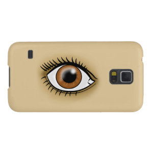 Brown Eye icon Galaxy S5 Cover