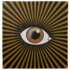 Brown Eye icon Napkin