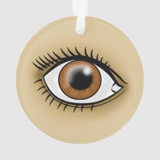 Brown Eye icon Ornament