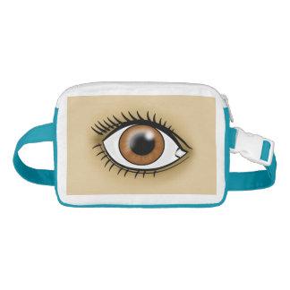 Brown Eye icon Waist Bag