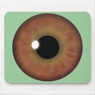 Brown Eye Iris Custom Cool Mouse Pad