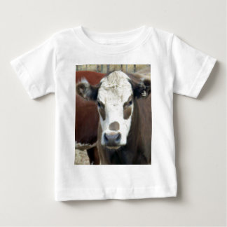 Brown_Eye_Patch_Cow,_ Baby T-Shirt