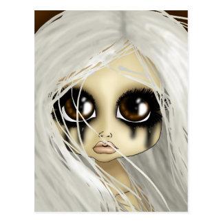 Brown Eyed Beauty Postcard