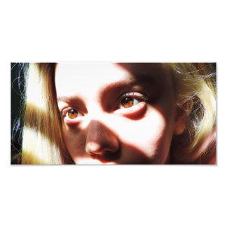 Brown Eyed Girl Photo Print