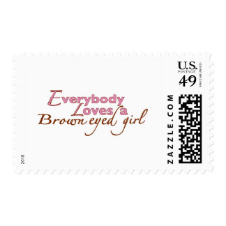 Brown Eyed Girl Stamps