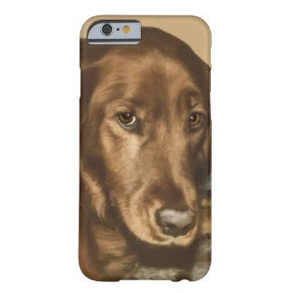 Brown Eyed Golden Irish Dog Barely There iPhone 6 Case
