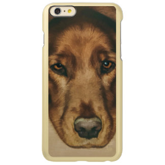 Brown Eyed Golden Irish Dog Incipio Feather Shine iPhone 6 Plus Case