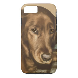 Brown Eyed Golden Irish Dog iPhone 8/7 Case