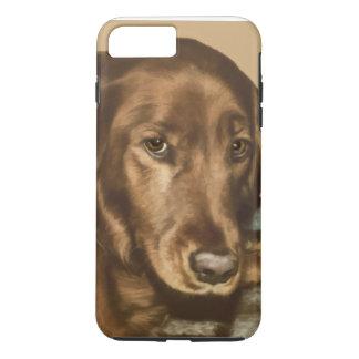 Brown Eyed Golden Irish Dog iPhone 8 Plus/7 Plus Case