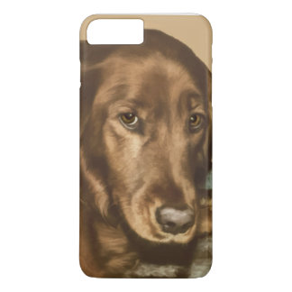 Brown Eyed Golden Irish Dog iPhone 8 Plus/7 Plus Case