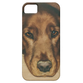 Brown Eyed Golden Irish Dog iPhone SE/5/5s Case