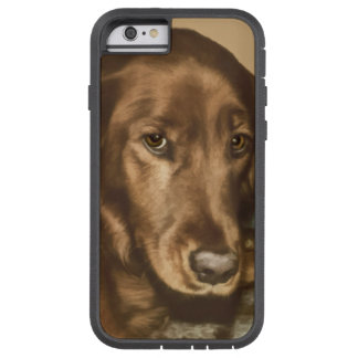 Brown Eyed Golden Irish Dog Tough Xtreme iPhone 6 Case
