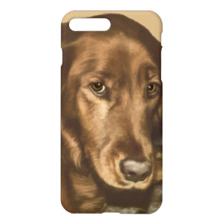 Brown Eyed Golden Irish Sporting Dog iPhone 8 Plus/7 Plus Case