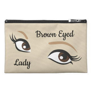 Brown Eyed Lady Travel Bag