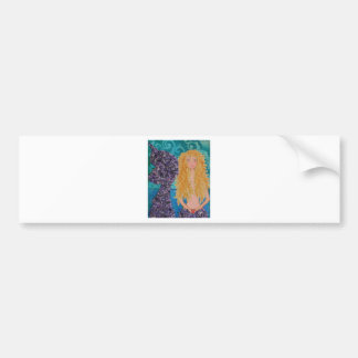 brown eyed mermaid.jpg bumper sticker