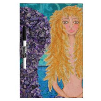 brown eyed mermaid.jpg dry erase board