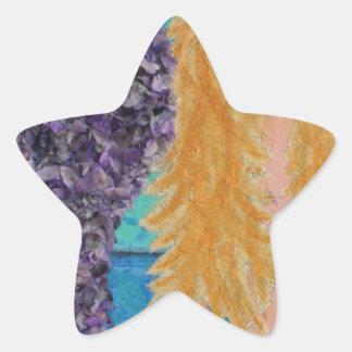 brown eyed mermaid.jpg star sticker