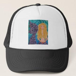 brown eyed mermaid.jpg trucker hat