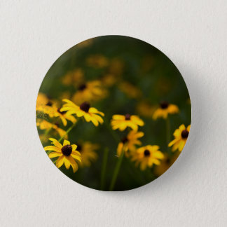 Brown-Eyed Susan Flowers Button