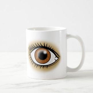 Brown Eyes icon Coffee Mug
