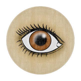 Brown Eyes icon Cutting Board