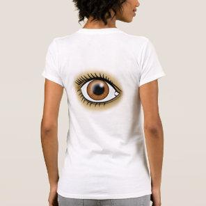 Brown Eyes icon T-Shirt
