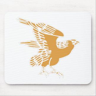 Brown Falcon Mousepads
