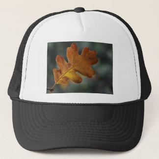 Brown Fall Leaf Trucker Hat