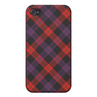 Brown Family or Clan Tartan Plaid Iphone4 Case
