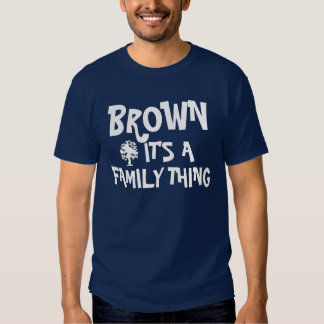 Brown family Reunion T-shirt