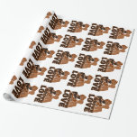 BROWN FAMILY SOLID WRAPPING PAPER