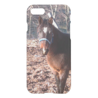 Brown Farm Horse Raleigh County iPhone 8/7 Case