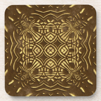 Brown Faux Stone Coasters