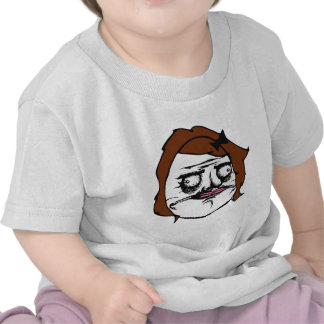 Brown Female Me Gusta Comic Rage Face Meme Tees