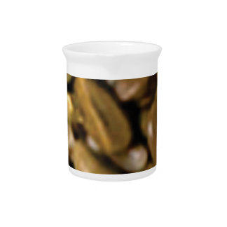 brown fill of rocks beverage pitcher