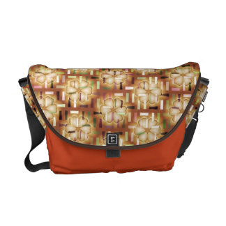 Brown Floral Dash-it Day Bag