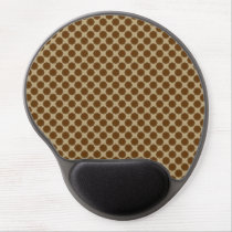 Brown Flower Ribbon by Kenneth Yoncich Gel Mouse Pad