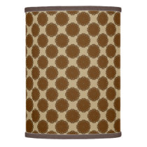 Brown Flower Ribbon by Kenneth Yoncich Lamp Shade