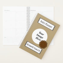 Brown Flower Ribbon by Kenneth Yoncich Planner