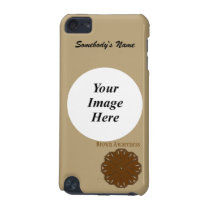 Brown Flower Ribbon Template iPod Touch 5G Case