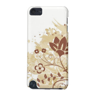 Brown Flowers iPod Touch (5th Generation) Case