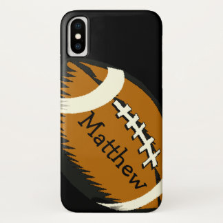 Brown Football Sports iPhone X Case